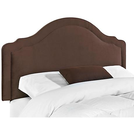 Klaussner Rabin Belsire Chocolate Fabric Headboards