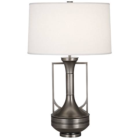 Robert Abbey Sofia Antique Nickel Table Lamp
