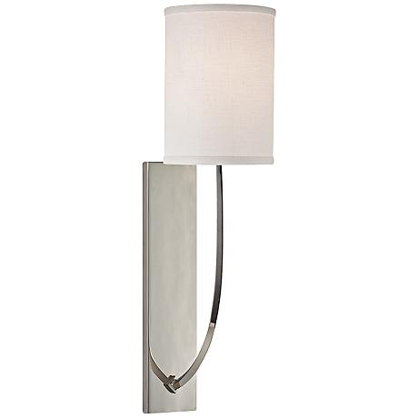 "Hudson Valley Colton 17"" High Polished Nickel Wall Sconce"