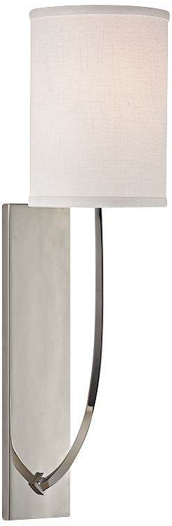 Hudson Valley Colton 17  High Polished Nickel Wall Sconce  sc 1 st  L&s Plus & Hudson Valley Lighting Sconces | Lamps Plus azcodes.com