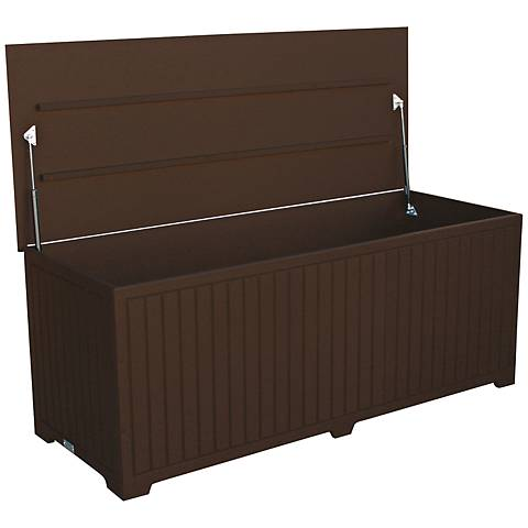 Sydney Recycled Plastic Brown Large Outdoor Deck Box