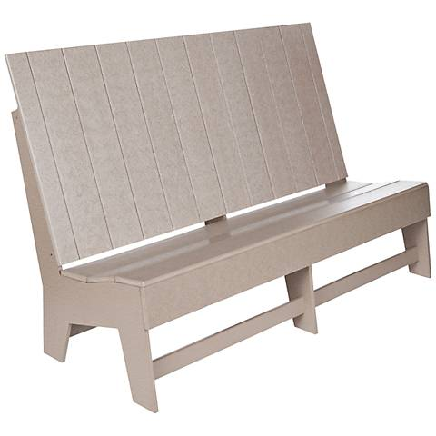 Burroughs Driftwood Recycled Plastic Outdoor Sofa