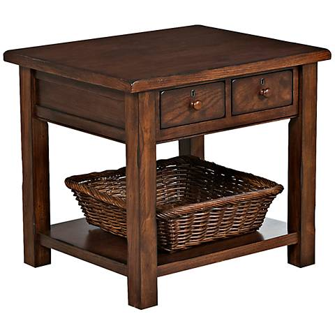 Klaussner Providence Rectangular End Table