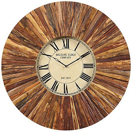 "Cooper Classics Chatham 36"" Round Wall Clock"