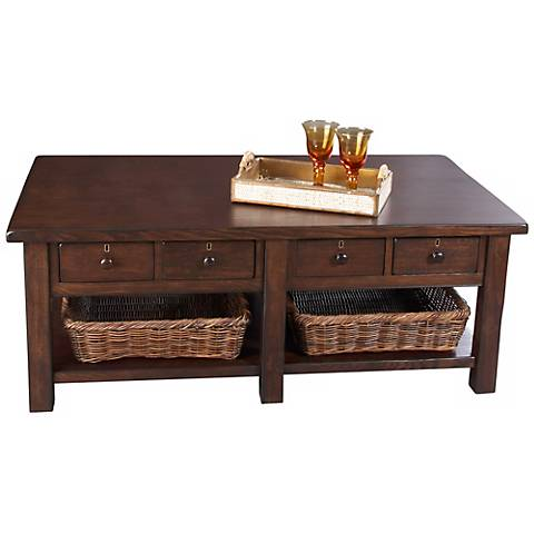 Klaussner Providence Rectangular Cocktail Table