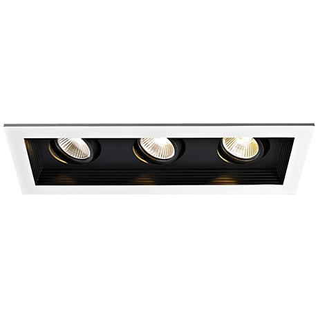 WAC Triple Spot Light 33W LED Remodel Complete Recessed Kit