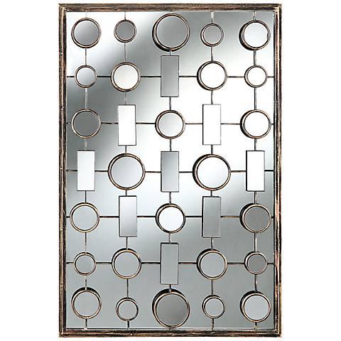 """Cooper Classics Fairmont 24 1/2"""" x 36 1/4"""" Wall Mirror"""
