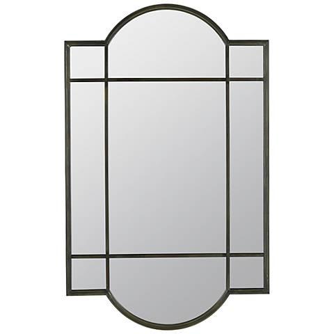 """Cooper Classics Lowell 23 1/2"""" x 36 1/2"""" Wall Mirror"""