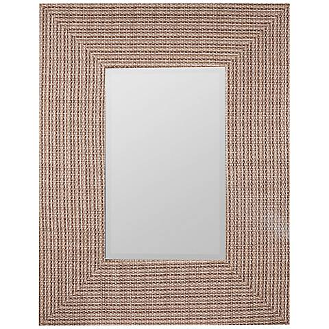 "Cooper Classics Oberline 27 3/4"" x 35 1/2"" Wall Mirror"