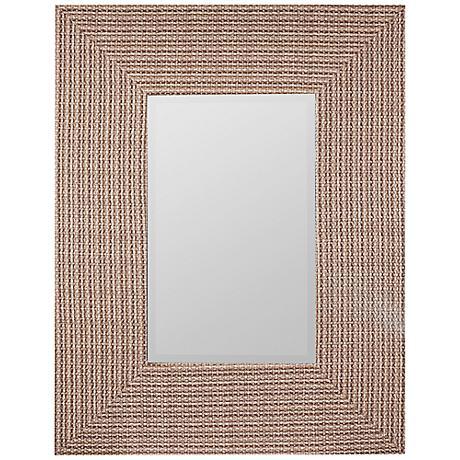 "Cooper Classics Oberline 27 3/4"" x 35 1/2"" Wall Mirror"