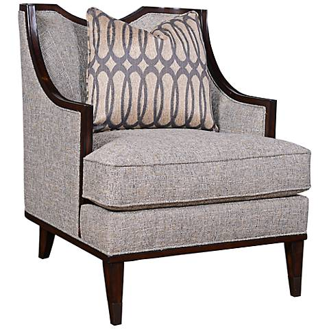 Intrigue Harper Mineral Upholstered Accent Chair