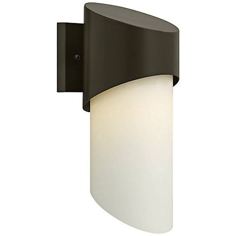 "Hinkley Solo 14"" High Bronze Outdoor Wall Light"