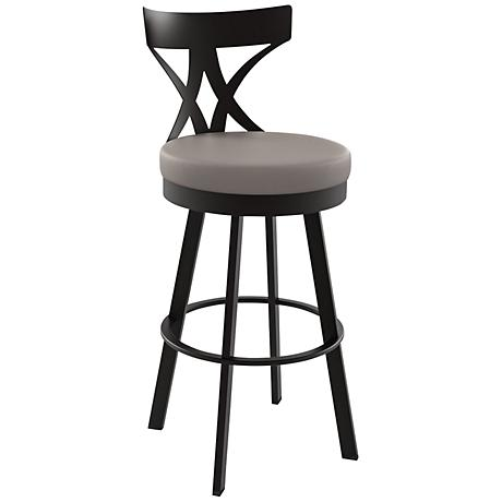 "Amisco Washington Stratus 30"" Cobrizo Bar Stool"