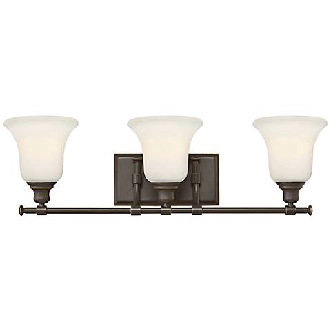 "Hinkley Colette 26 1/4"" Wide Oil-Rubbed Bronze Bathroom Light"