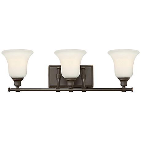 "Hinkley Colette 26 1/4"" Wide Oil-Rubbed Bronze Bathroom Light"