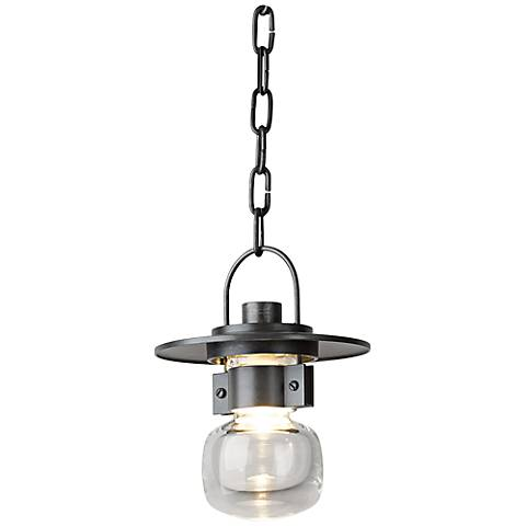 "Hubbardton Forge Mason 9""H Steel Hanging Light"