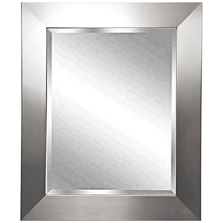 "Corden 32 1/2"" x 38 1/2"" Beveled Wall Mirror"