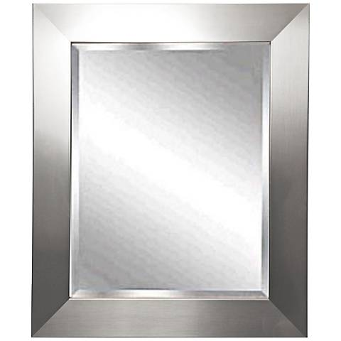 "Corden 27 1/2"" x 31 1/2"" Beveled Wall Mirror"