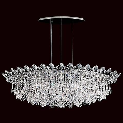 "Schonbek Trilliane Cluster 45"" Wide Crystal Pendant Light"