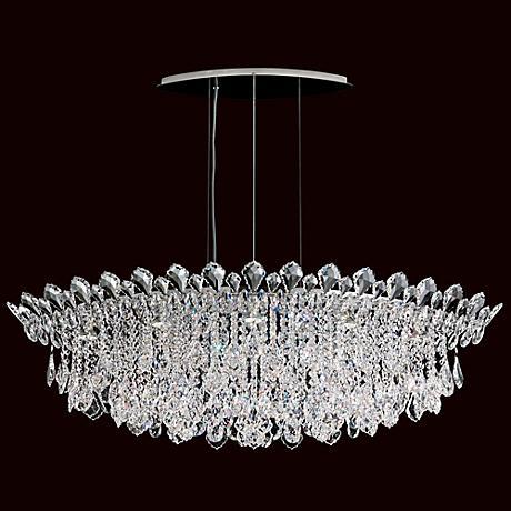 """Schonbek Trilliane Cluster 45"""" Wide Crystal Pendant Light"""