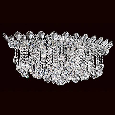 """Schonbek Trilliane Cluster 35 1/2"""" Wide Crystal Ceiling Light"""
