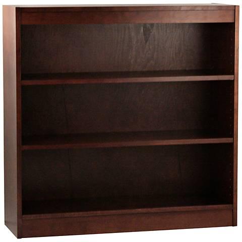 Laguna Walnut Adjustable 3-Shelf Bookcase