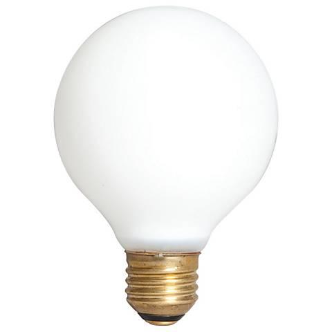 Good Night Dimmer G25 No-Shatter White 40 Watt Light Bulb