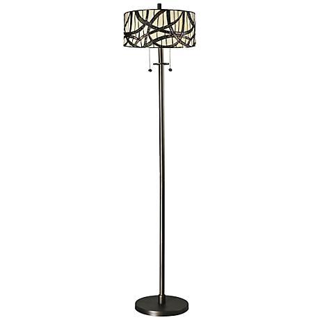 Dale Tiffany Willow Cottage Dark Bronze Floor Lamp