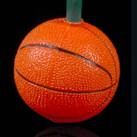 Ten Basketball Party String Lights