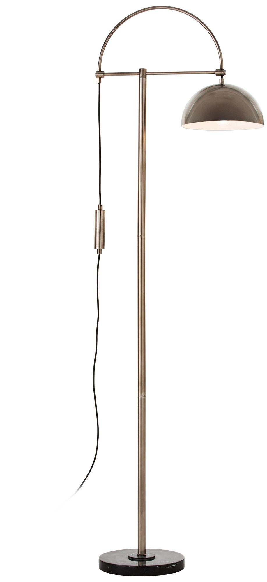 arteriors home jillian vintage silver floor lamp - Silver Floor Lamp