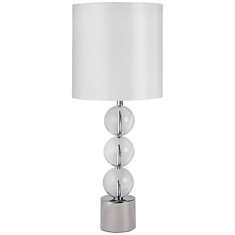 Regina Andrew Design Triple Crystal Orb Table Lamp