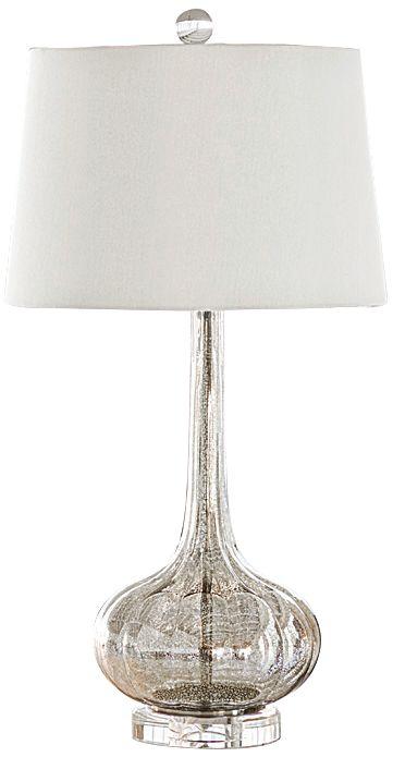 regina andrew design milano antique mercury glass table lamp - Mercury Glass Table Lamp