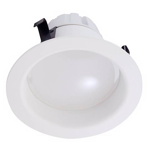 """4"""" Recessed IC or Non-IC 3000K LED White Retrofit Trim"""