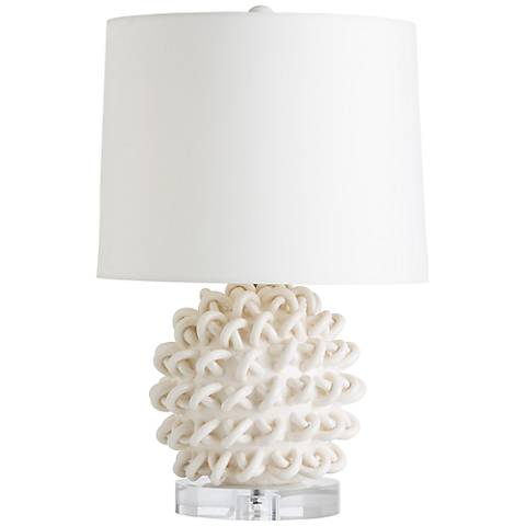 Arteriors Home Jamienne Looped Porcelain Accent Table Lamp