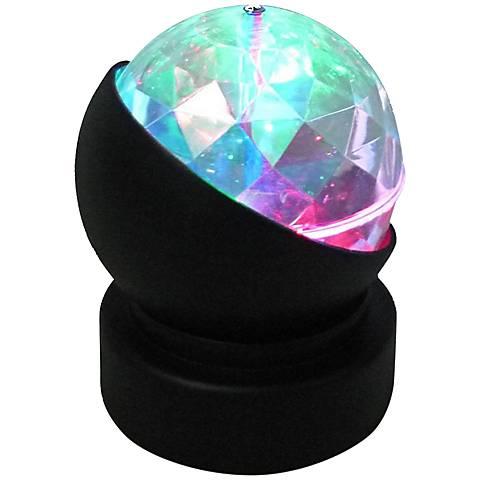 Rave LED Rotating Wireless Kaleidoscope Party Light