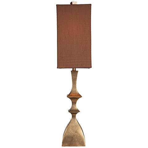 Gateway Aged Gold and Light Bronze Table Lamp