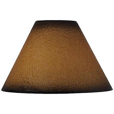 Distressed Faux Paper Lamp Shade 6x16x11 (Spider)