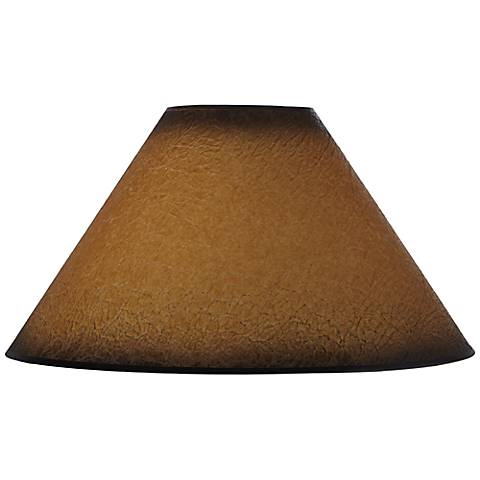 Distressed Faux Paper Lamp Shade 6x19x12 (Spider)