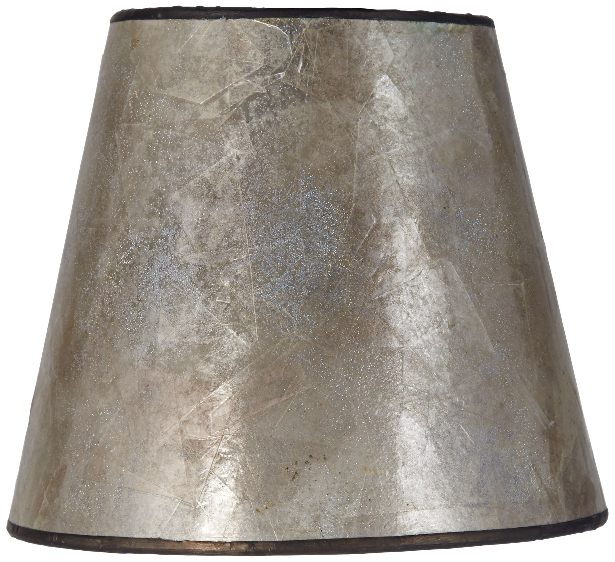 Blonde Mica Lamp Shade 3.5x5.5x5 (Clip On)