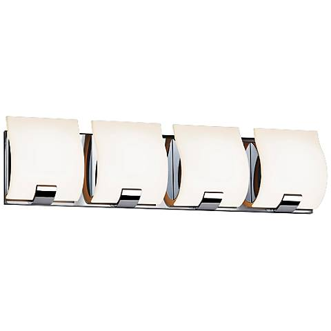 "Sonneman Aquo 23 1/2"" Wide Polished Chrome LED Bath Light"