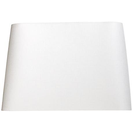 Off-White Rectangular Shade 16x10/18x12/x12 (Spider)