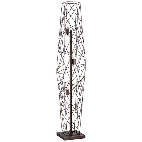 Webster Wire Cage Floor Lamp