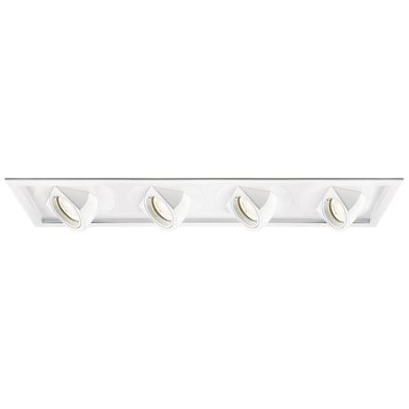WAC Tesla LED Square Floodlight Recessed Trim with Housing