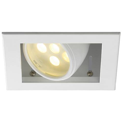 WAC LEDme® 25 Degree Spotlight Trim and Square Housing