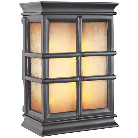 Windowpane Tea Glass 2-Note Illuminated Door Chime
