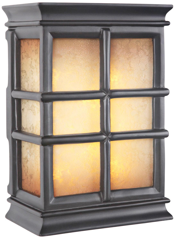 windowpane tea glass 2note illuminated door chime