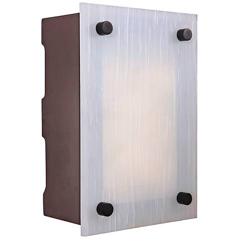 Kirby Frosted Glass 2-Note LED-Illuminated Door Chime