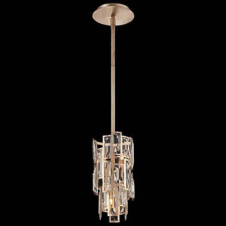 "Metropolitan Bel Mondo 6"" Wide Luxor Gold Mini Pendant"