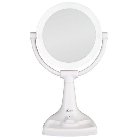 """Bright Sunlight 9"""" x 17 1/2"""" High Makeup Mirror"""
