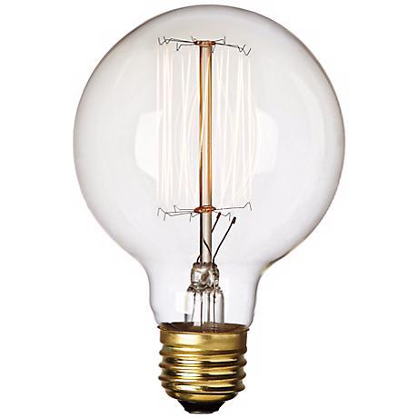 60 Watt G25 Edison Style Bulb